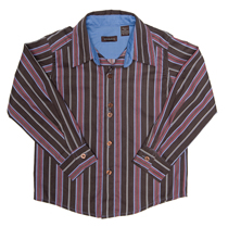Wonderboy - Soda Stripe button front shirt