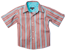 Wonderboy - Firewood Stripe Button Shirt
