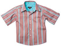 Wonderboy - Firewood Stripe Button Shirt