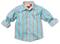 Wonderboy - Seagreen Stripe Shirt