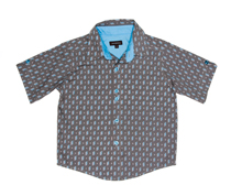 Wonderboy - Shadow long-sleeved button shirt