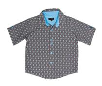 Wonderboy - Shadow long-sleeved button shirt