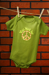 House of Mongrel - Will Work for Peace Onesie