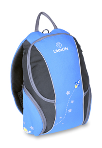 LittleLife - Kids Adventure Daysack - Blue Rocket