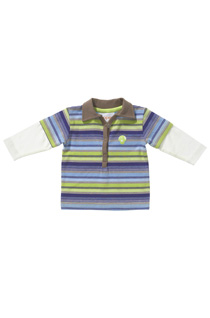 Noppies - Long-sleeved Infant Polo