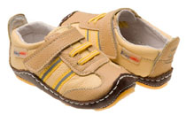 Rileyroos - Sportie in Butterscotch, infant shoe