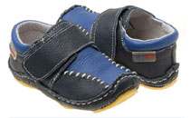 Rileyroos - Jakester in Navy, infant shoe