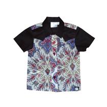 Addaboy - Black and Paisley Rocker Shirt