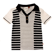 Fore Axel and Hudson - Column Stripe Polo