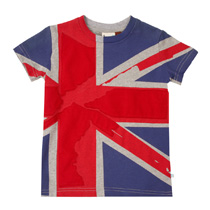 Fore Axel and Hudson - Union Jack Tee
