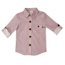 Fore Axel and Hudson - Classic Tic Tac Print Button Shirt
