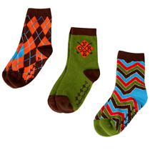 Fore Axel and Hudson - Colourful Socks, Box of 3