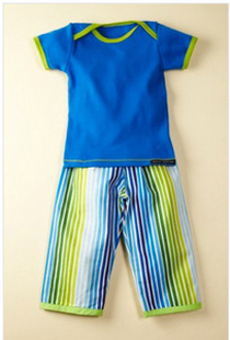 Paulina Quintana - Blue Striped Playset