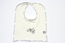 and the little dog laughed - Dog bib