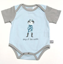 and the little dog laughed - King onesie
