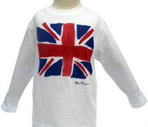 Ben Sherman - Union Jack long-sleeved T
