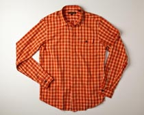 Ben Sherman - Orange Flame Laundered Button Shirt (Men's)