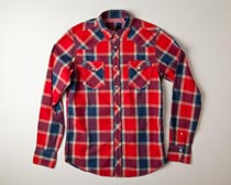 Ben Sherman - Jester Plaid Laundered Button Shirt  (Men's)