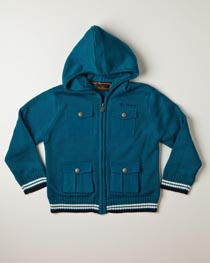 Ben Sherman - Knit Hooded Jacket