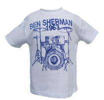 Ben Sherman - Drum kit short-sleeved T