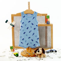Coccoli - Construction-themed Romper