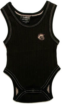 Knuckleheads - Infant Skivvies Beater in Black