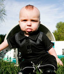 Knuckleheads - Infant Lil Duke in Black