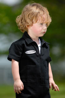Knuckleheads - Grease Monkey Coveralls in Black