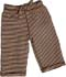 Knuckleheads - Striped Brown Knit Pants