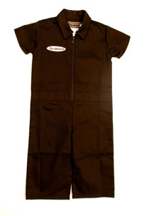 Knuckleheads - Grease Monkey Coveralls in Brown