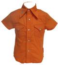 Knuckleheads-Orange head shirt