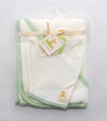 Piccolo Bambino-Hooded Towel and Washmit