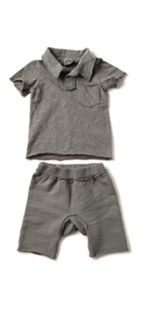 Appaman - Polo with round shorts